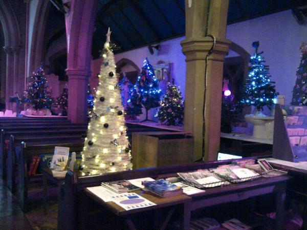 Church Christmas tree festival on today - All Saints Church Christmas Tree Festival On Today Harrow Times