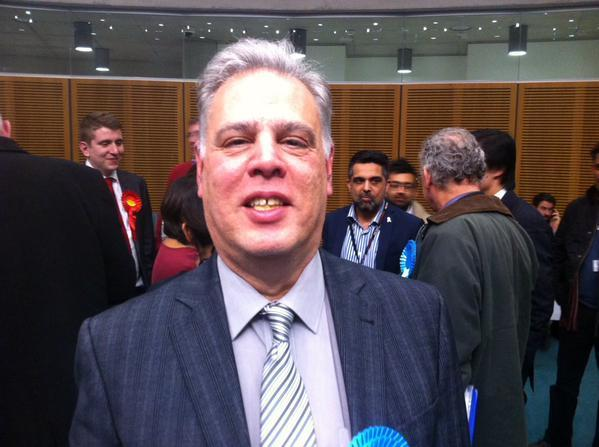 Michael Maurice won a by-election to represent Kenton on Brent Borough Council
