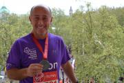Jason Rishover - London Marathon
