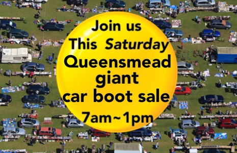 Queensmead Saturday Giant car boot sale Ruislip