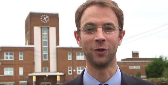 Chris Woolf, headteacher of the new Pinner High School