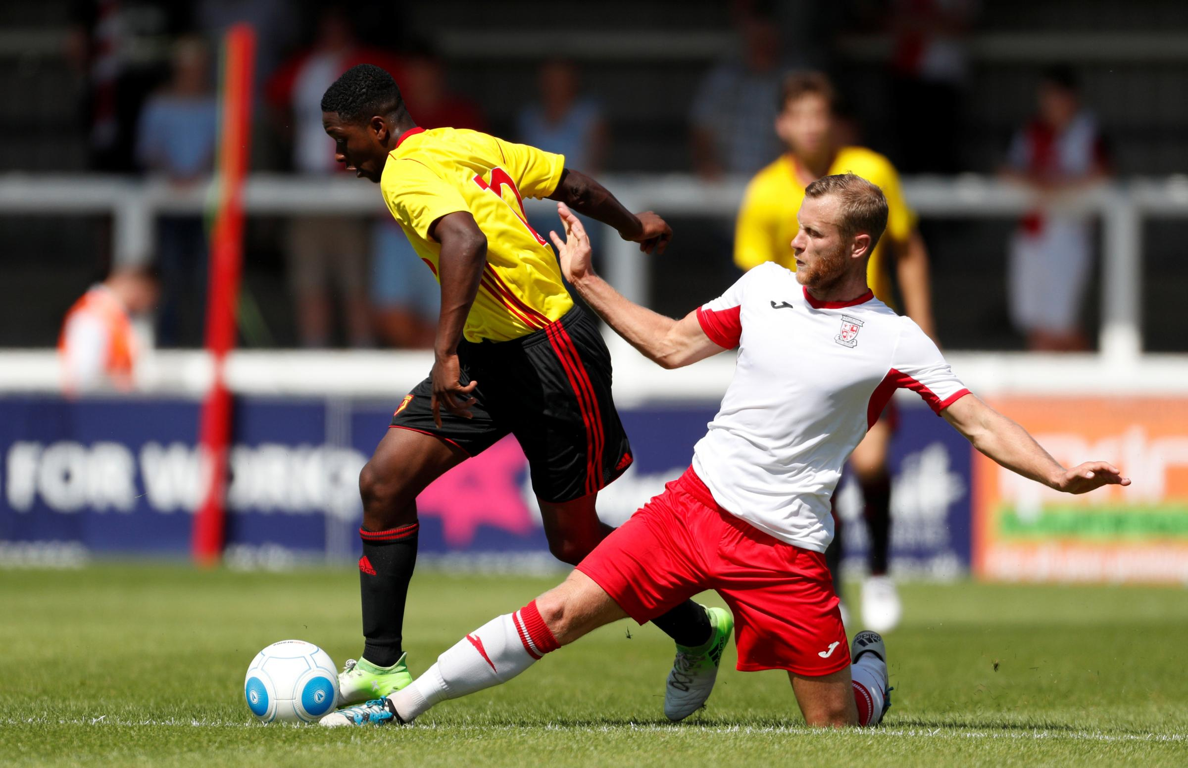 Michael Folivi scored again as Watford U23s picked up another win. Picture: Action Images
