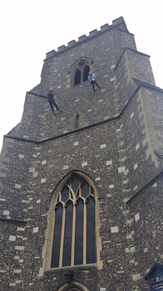 Snowflake Abseil and Christmas Market