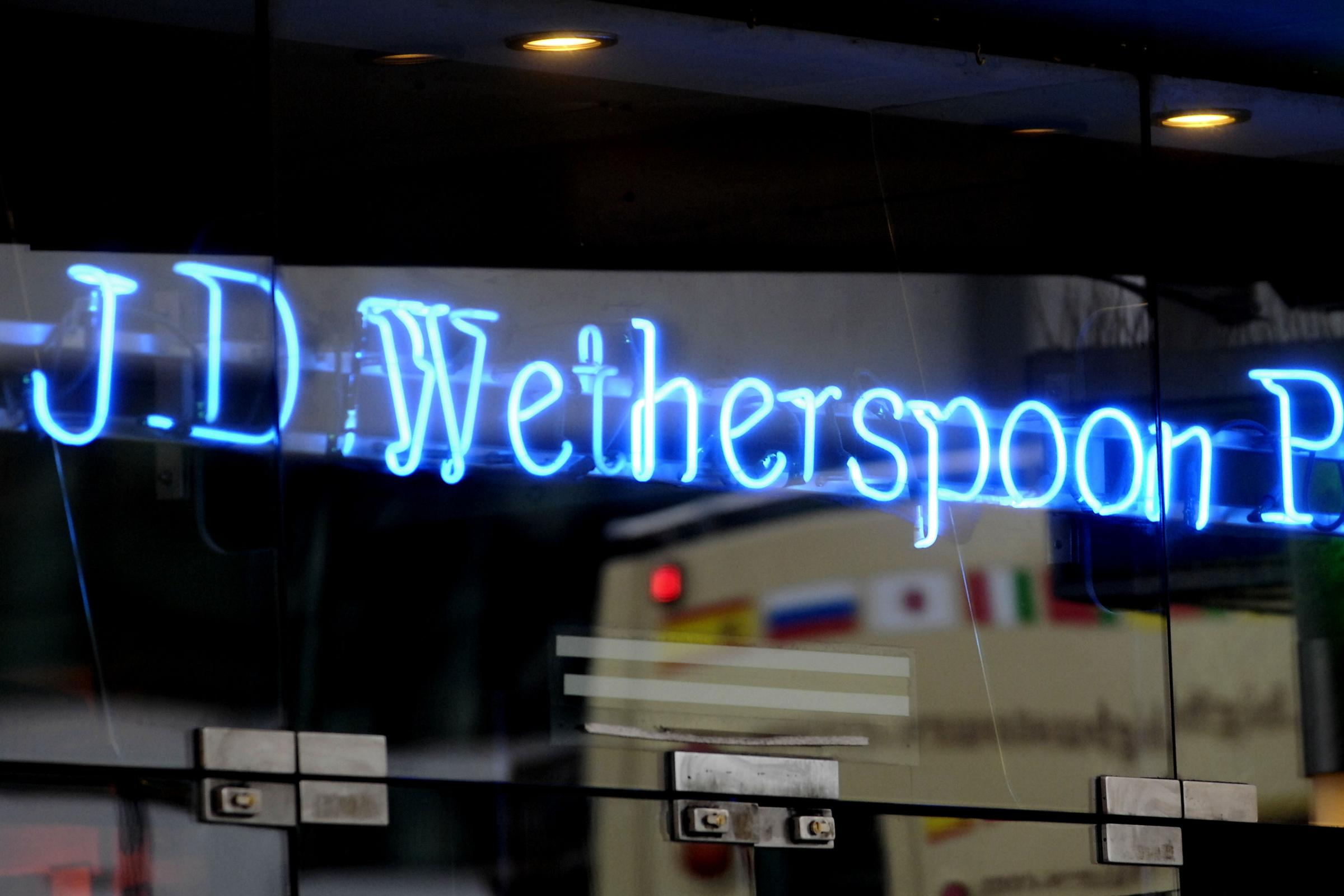 Wetherspoons is shutting down its social media