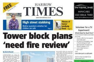 The Harrow Times can be picked up from 17 places around the borough