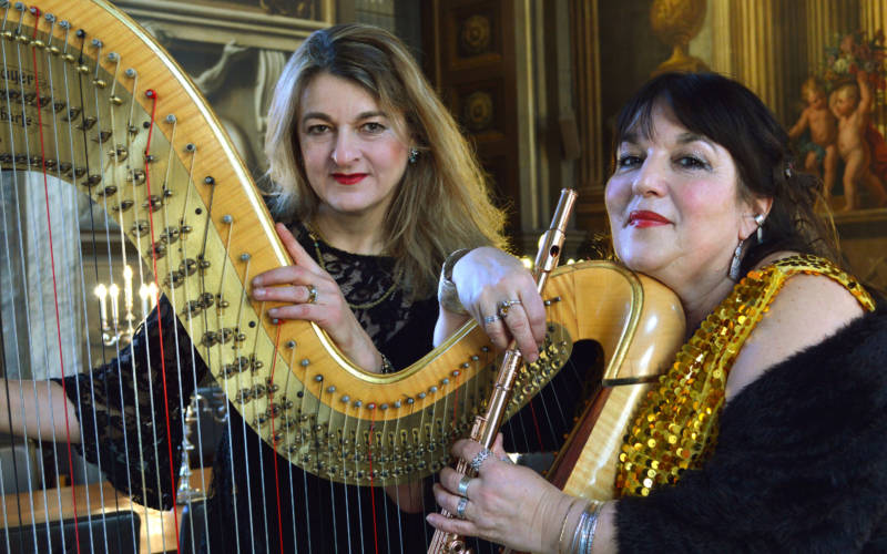 Music at Windmill Hill: Flute & Harp Concert
