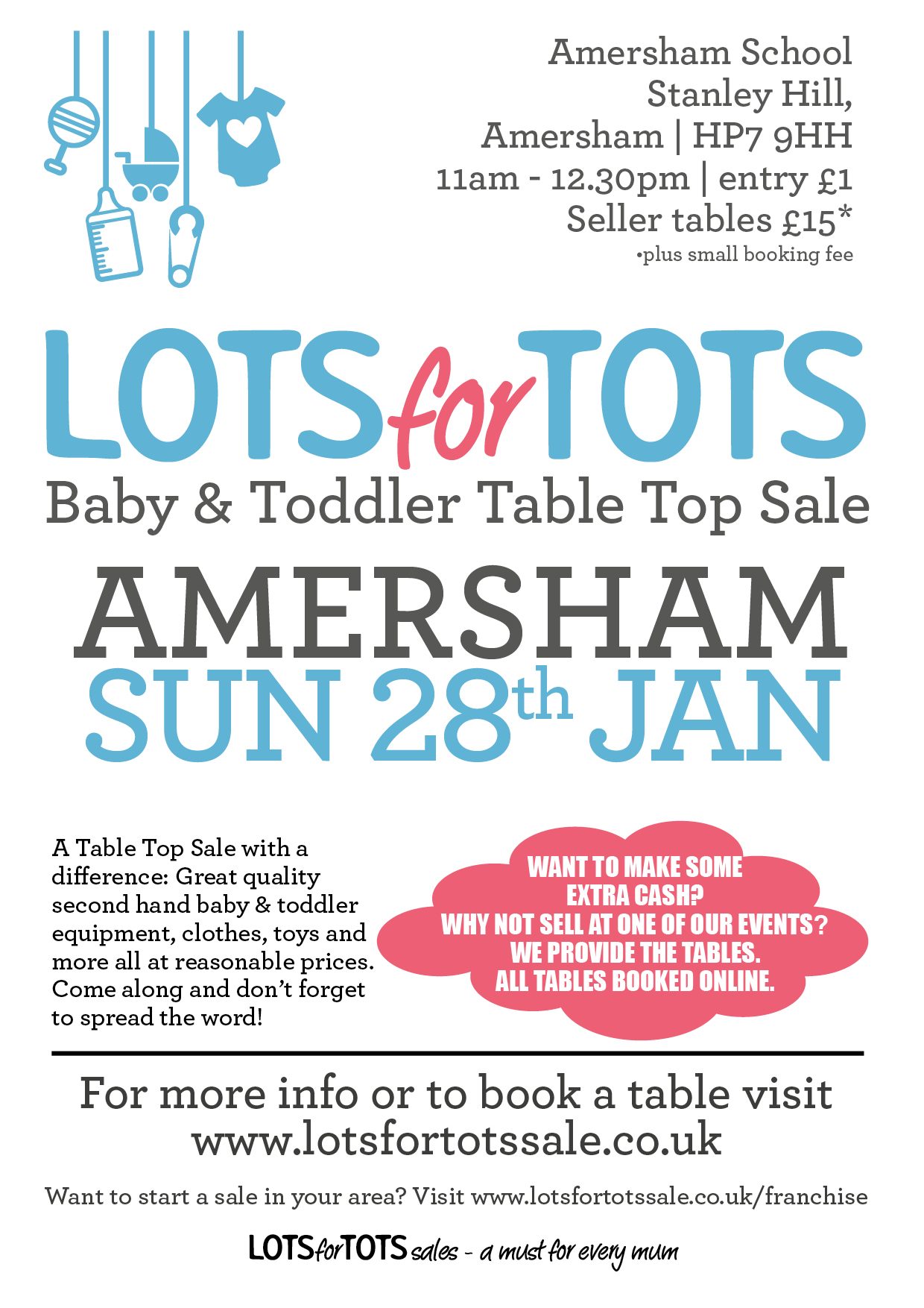 Lots for Tots Baby & Toddler nearly new sale
