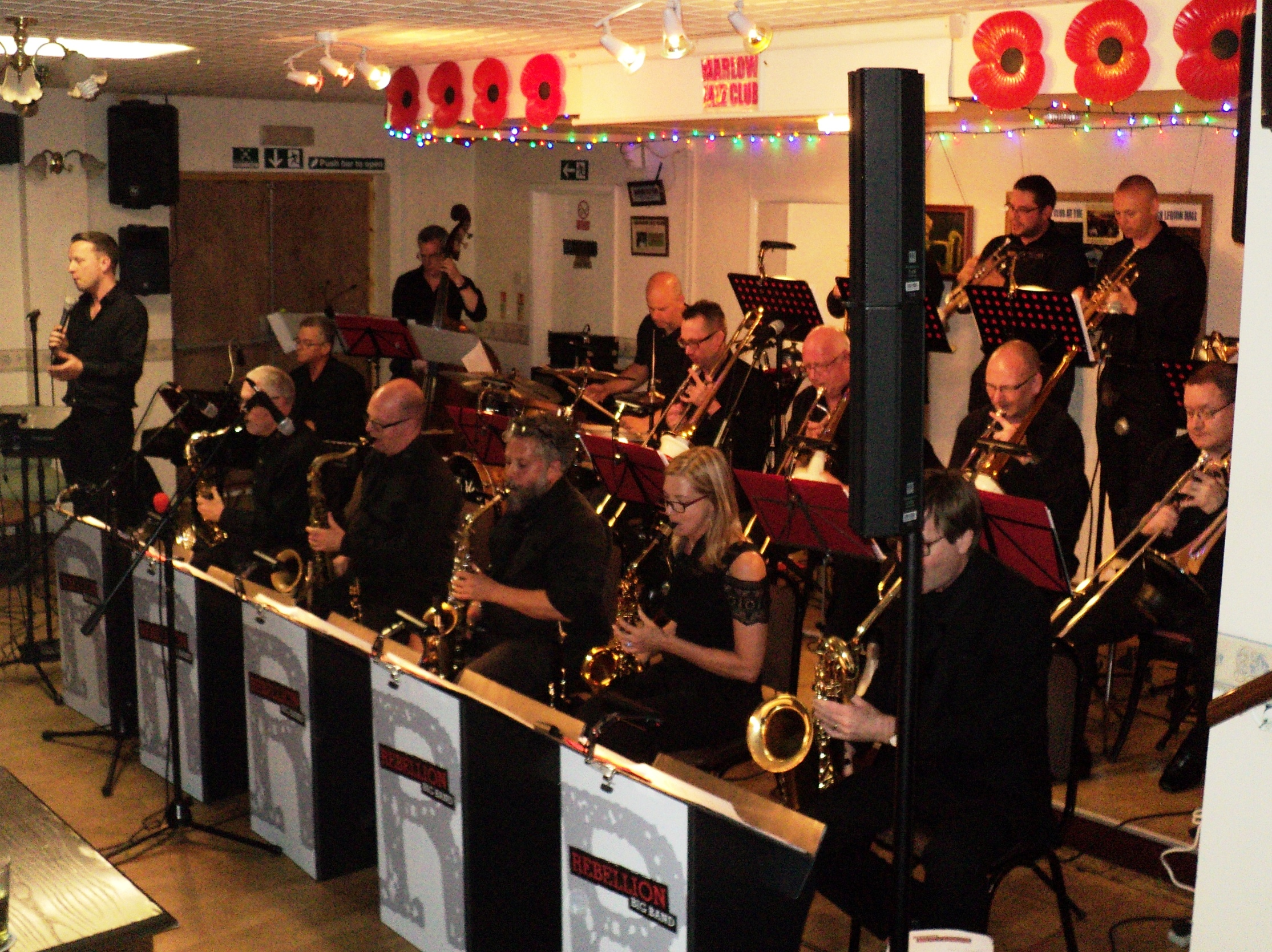 REBELLION BIG BAND BACK IN MARLOW