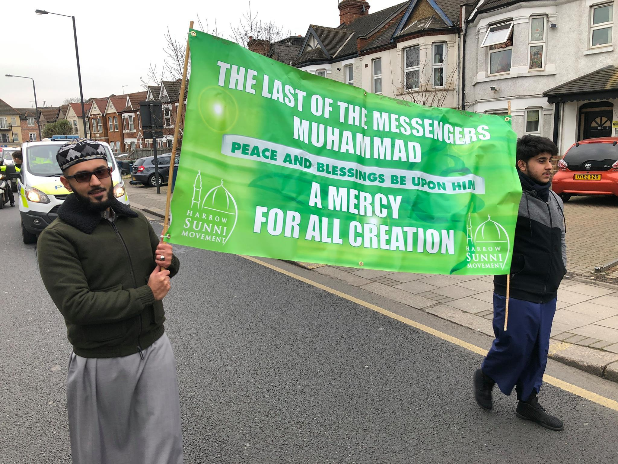 The fifth annual Milad in Harrow commemorating the Prophet Muhammad's birthday