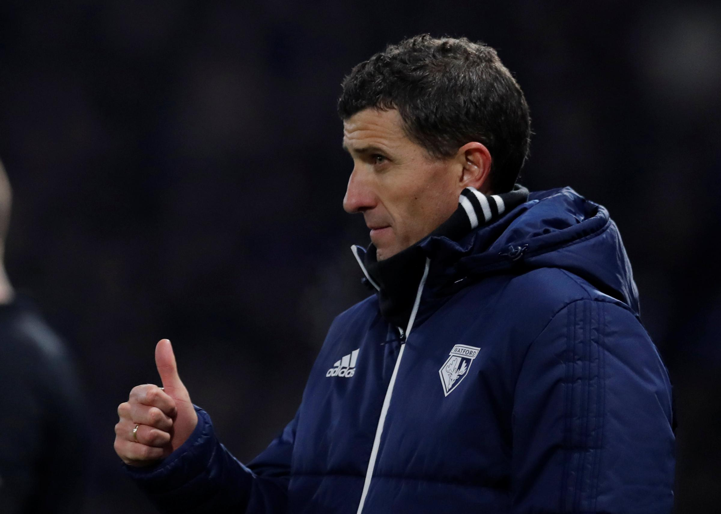 A big thumbs up: Javi Gracia. Picture: Action Images