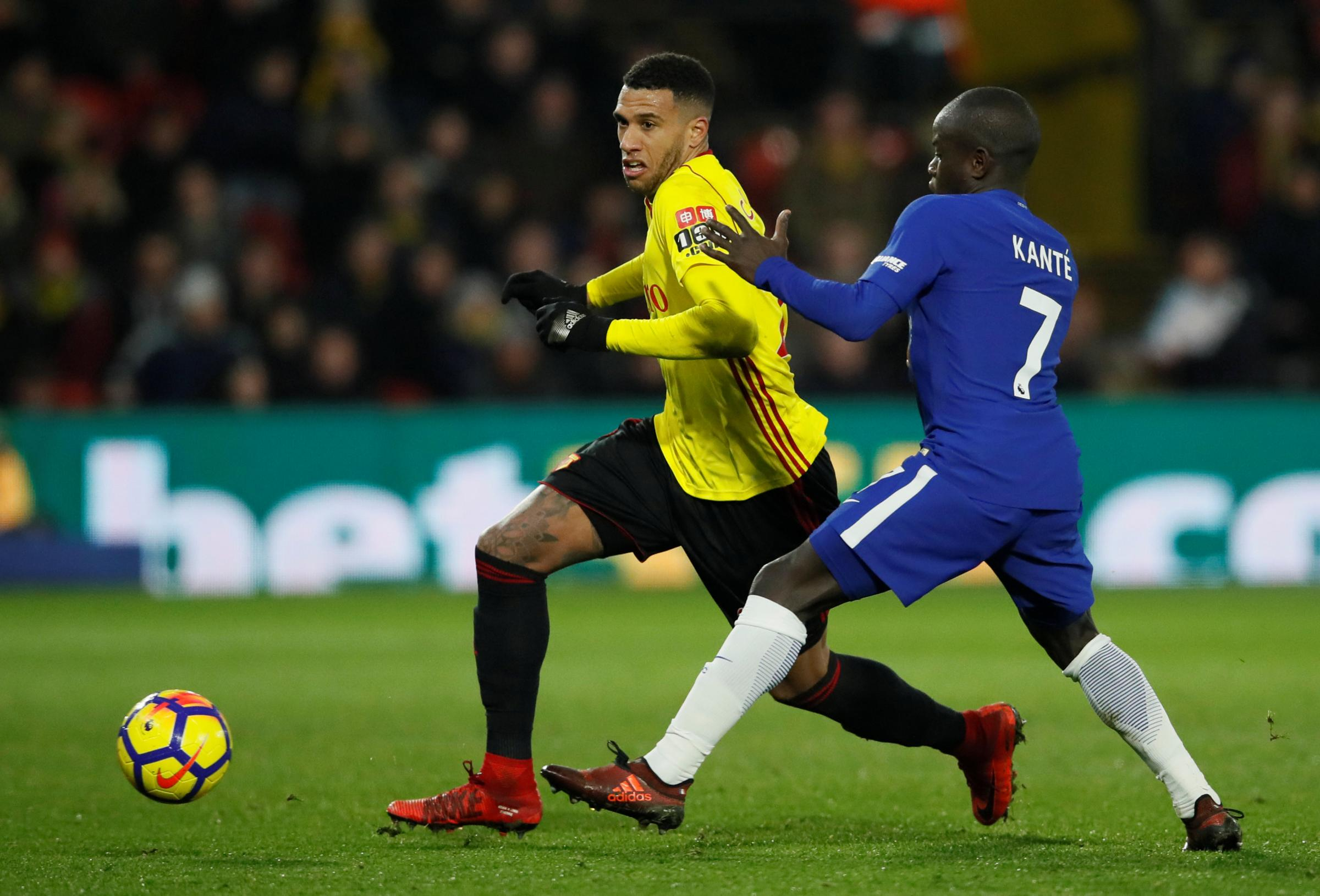 Etienne Capoue has been at Watford since 2015. Picture: Action Images