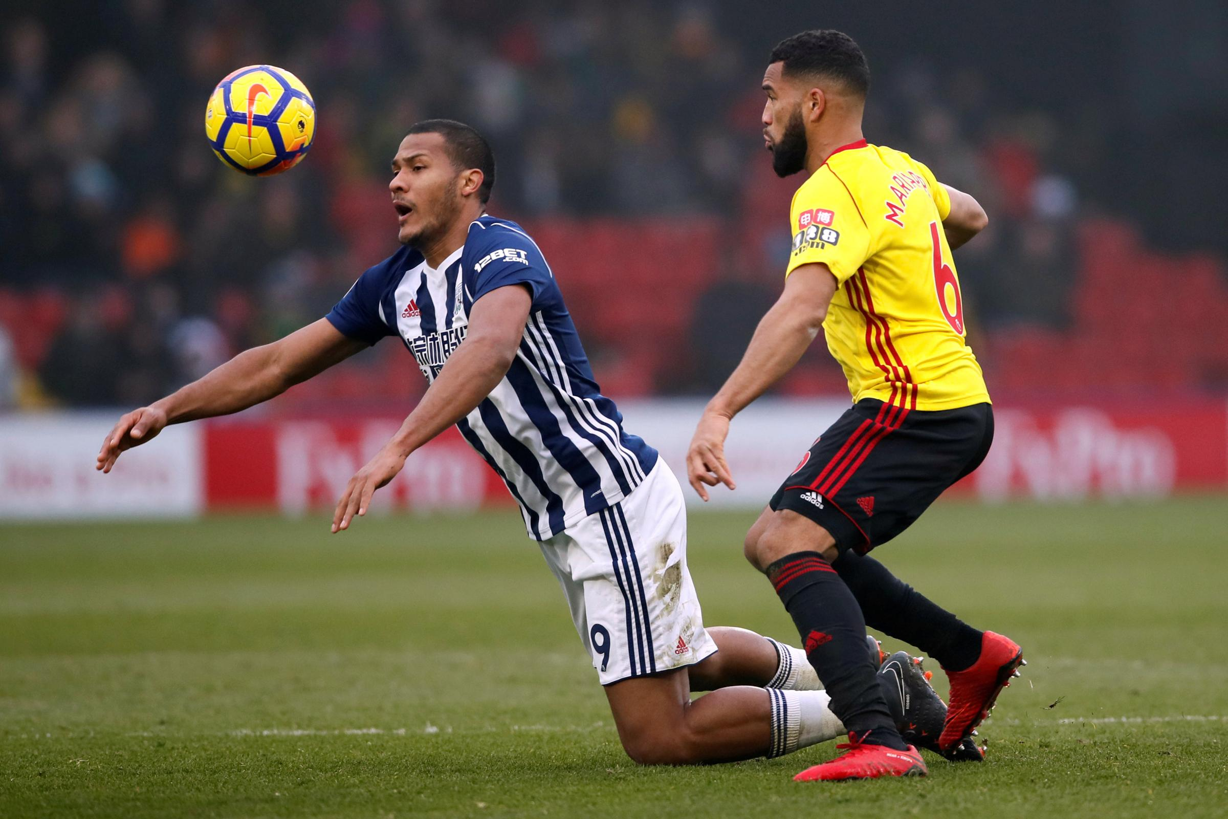 Adrian Mariappa says Troy Deeney offers Watford much more than goals. Picture: Action Images