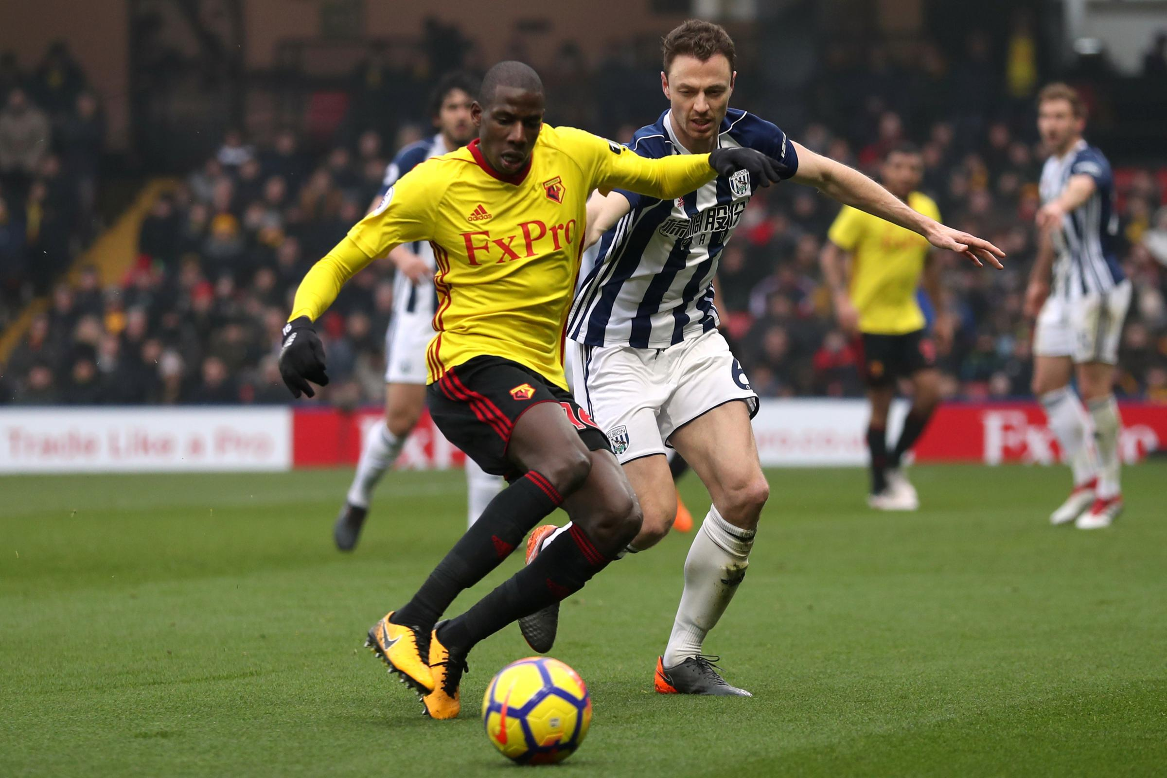 Abdoulaye Docuoure's Watford future remains the subject of speculation. Picture: Action Images