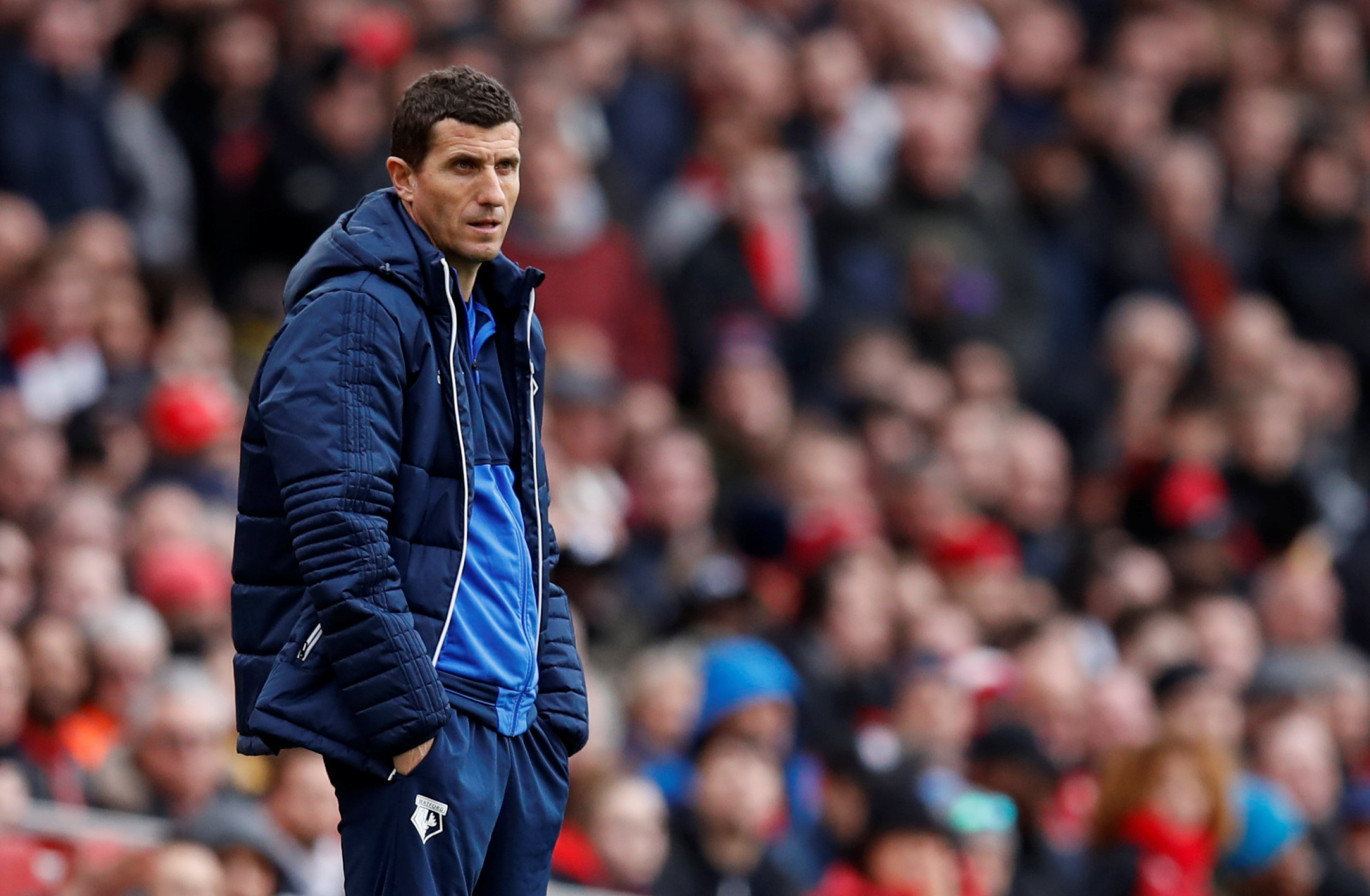 Javi Gracia's men are 10 points away from setting a Watford record. Picture: Action Images