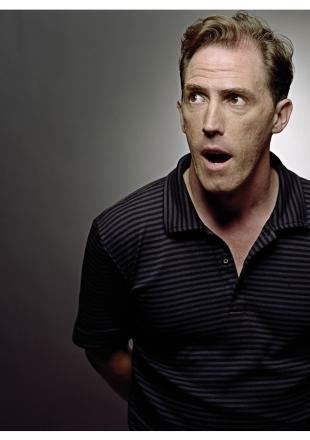 Harrow Times: Hurry if you want to catch Rob Brydon's first HfC gig