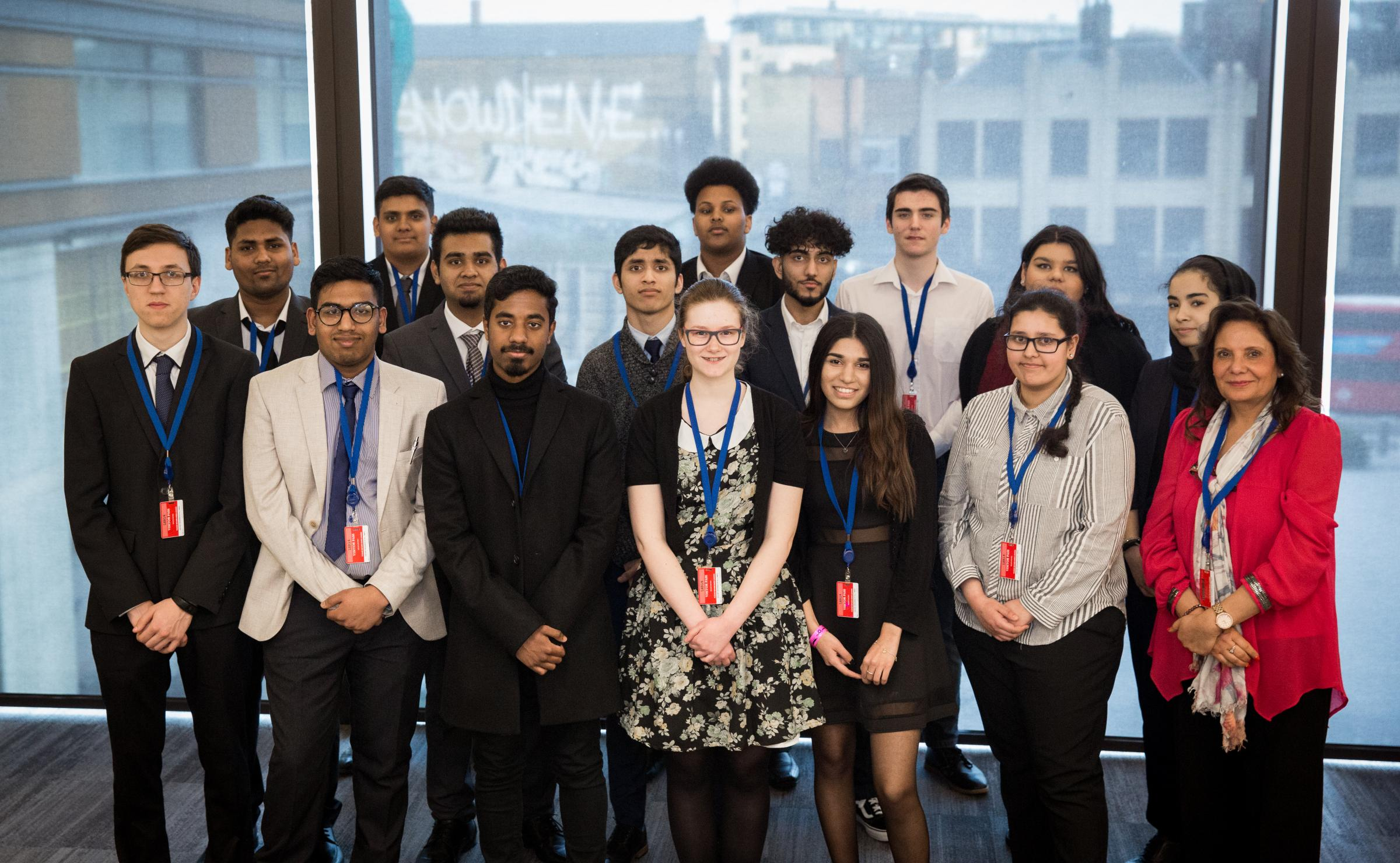 Harrow College students celebrate their success