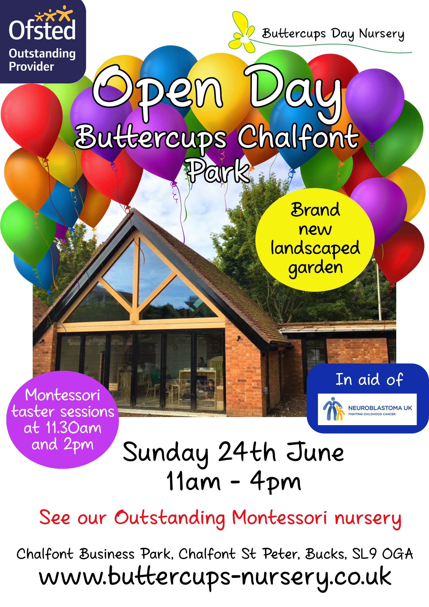 Open Day at Buttercups Chalfont Park