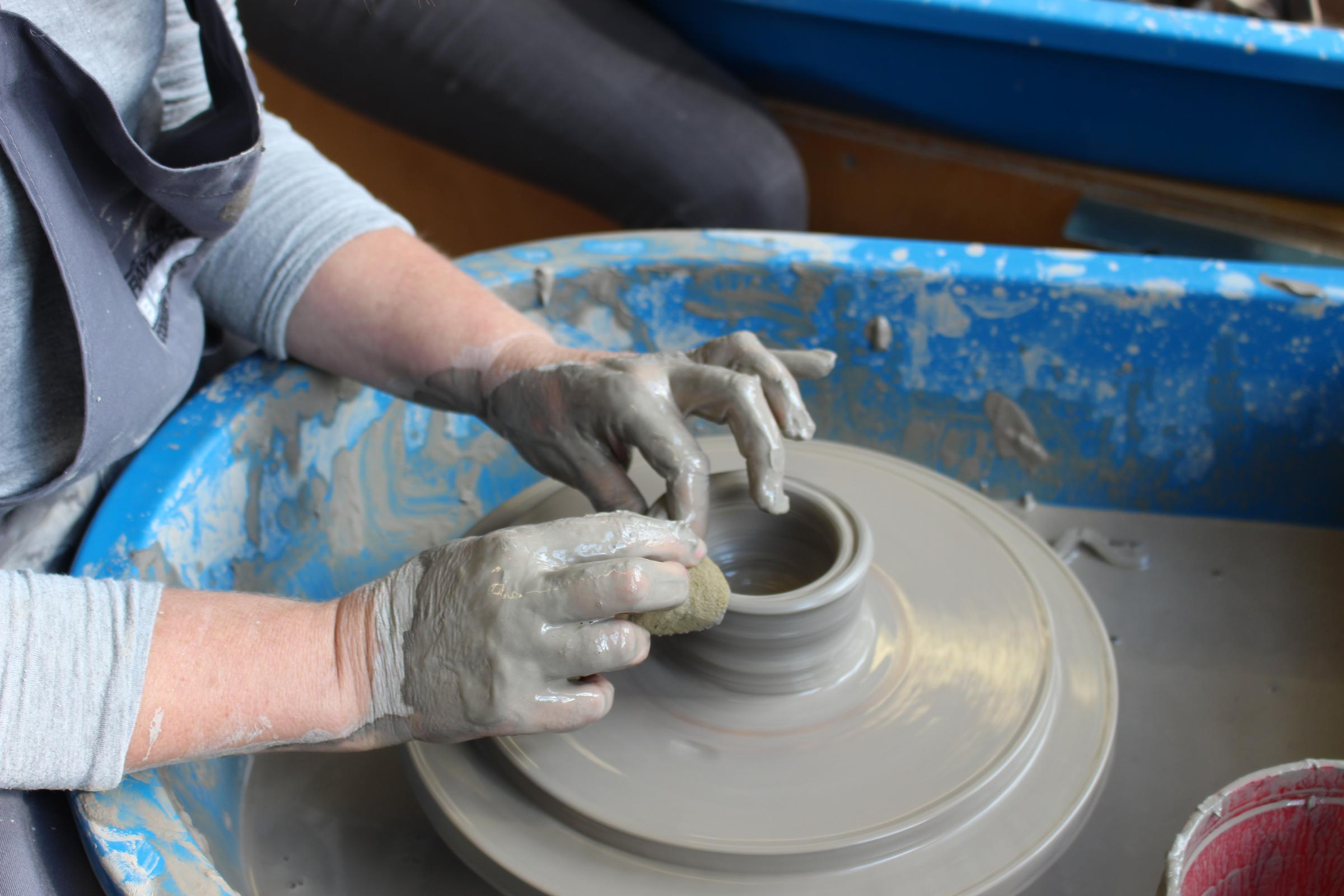 Pottery Throwing Workshop at Queens Park Arts Centre