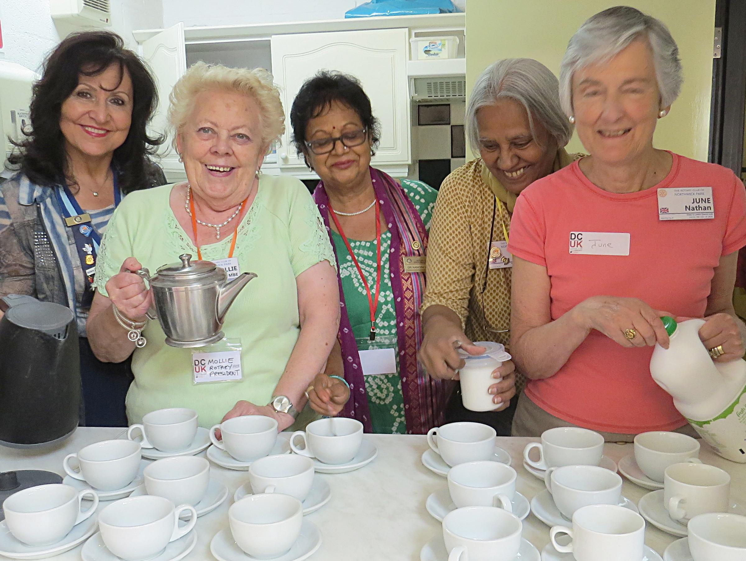 Nuevas reuniones sobre demencia lanzadas por los clubes rotarios de Harrow y Edgware