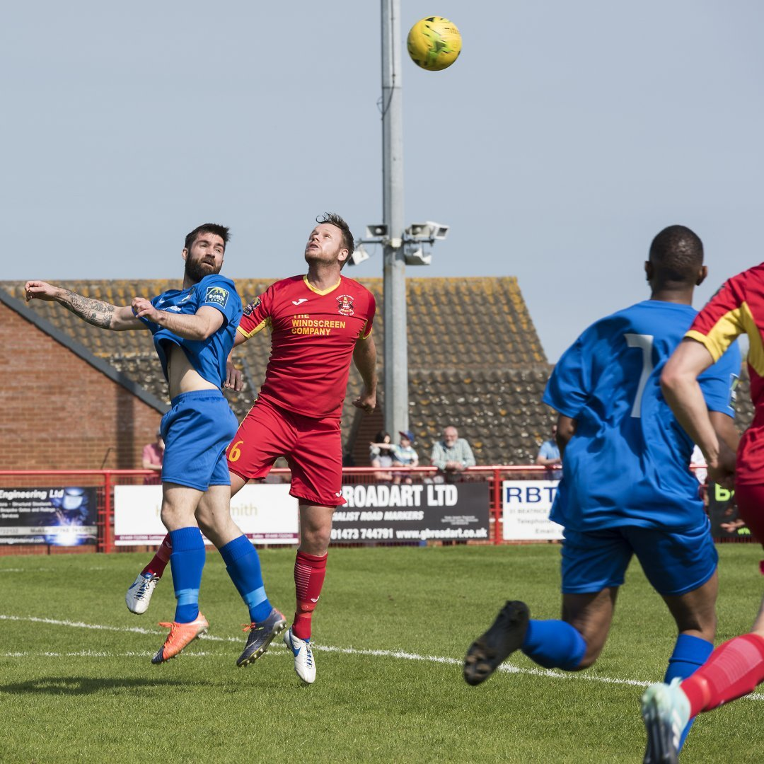 Ryan Moss, in action last season, scored Borough's opening goal of the new campaign. Picture: Bruce Viveash