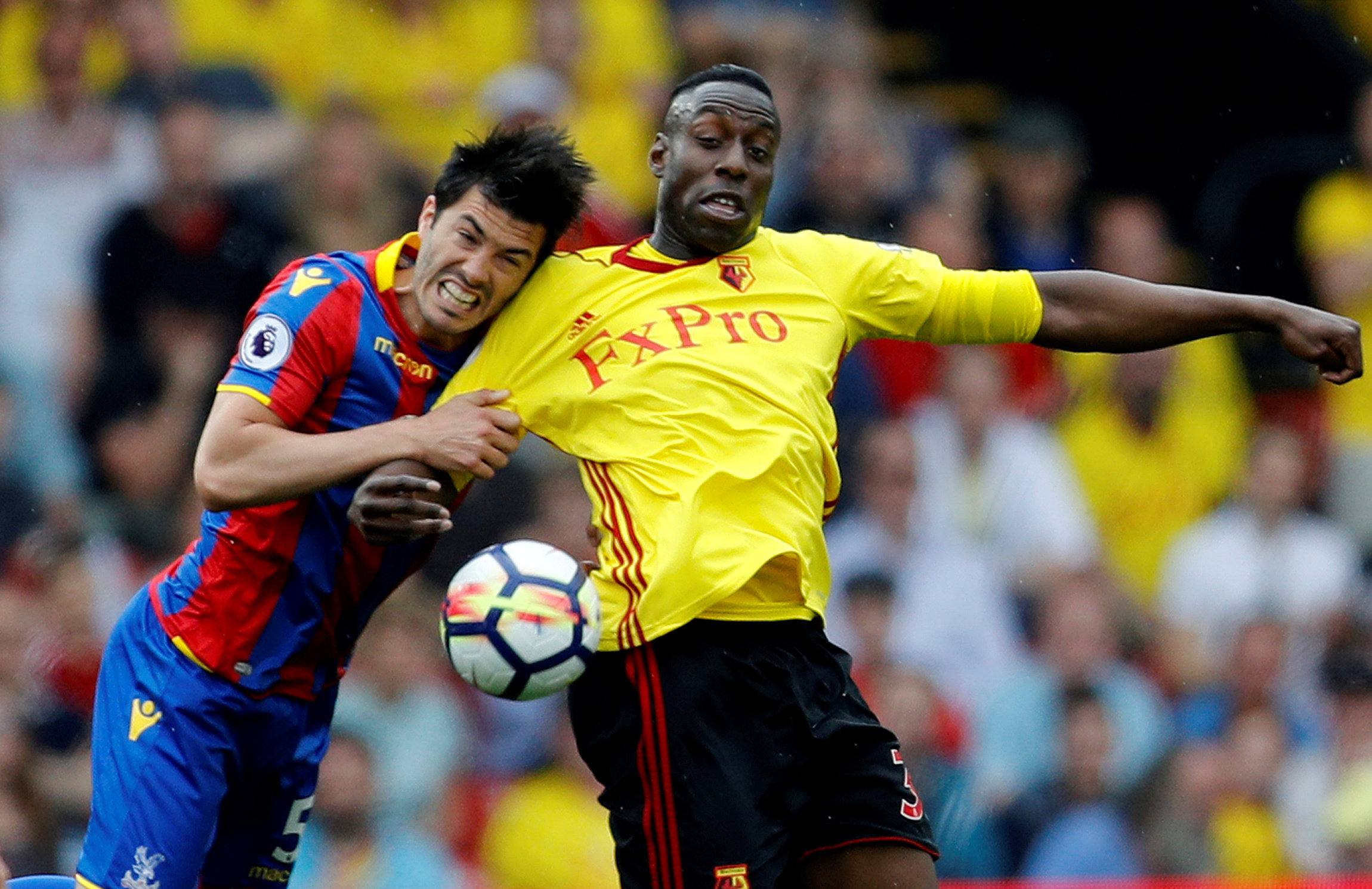 Stefano Okaka has had limited game time this season. Picture: Action Images