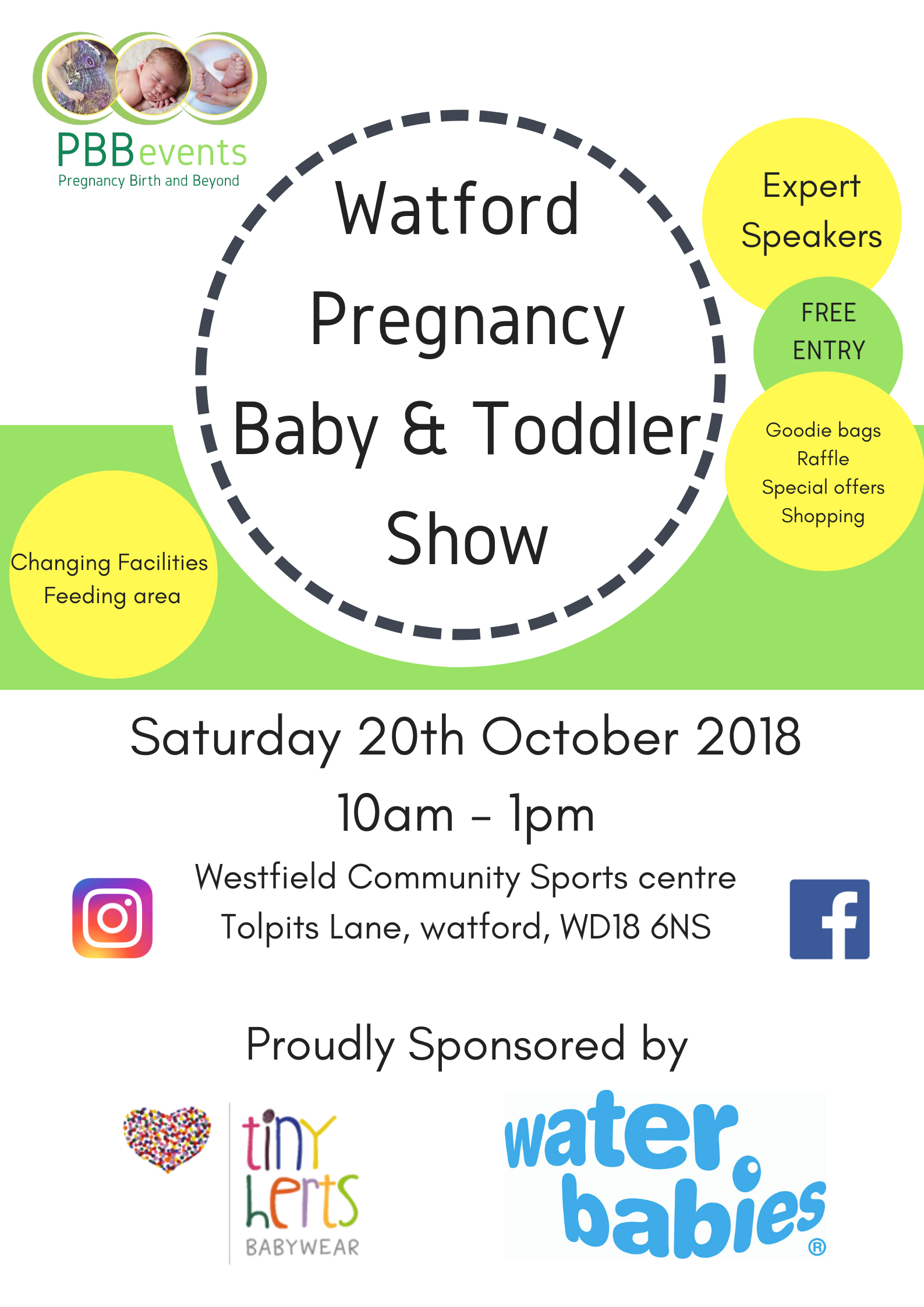 Watford Pregnancy, Baby and Toddler Show