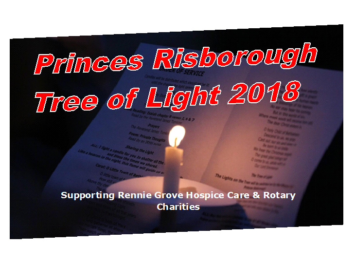 Princes Risborough Tree of Light