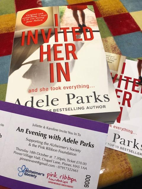 Sunday Times Bestselling Author Adele Parks comes to Pinner