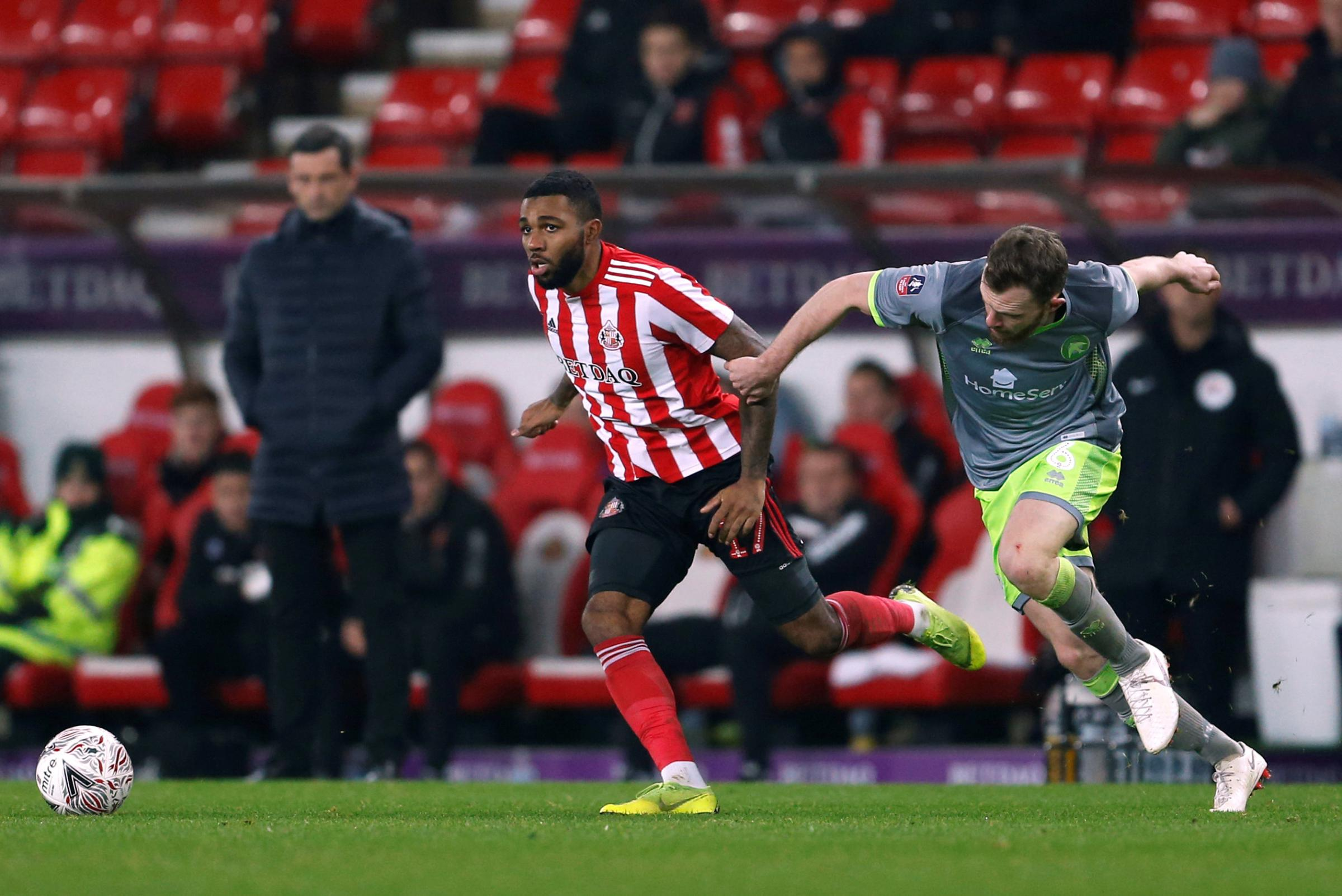 Jerome Sinclair will return from his loan at Sunderland. Picture: Action Images