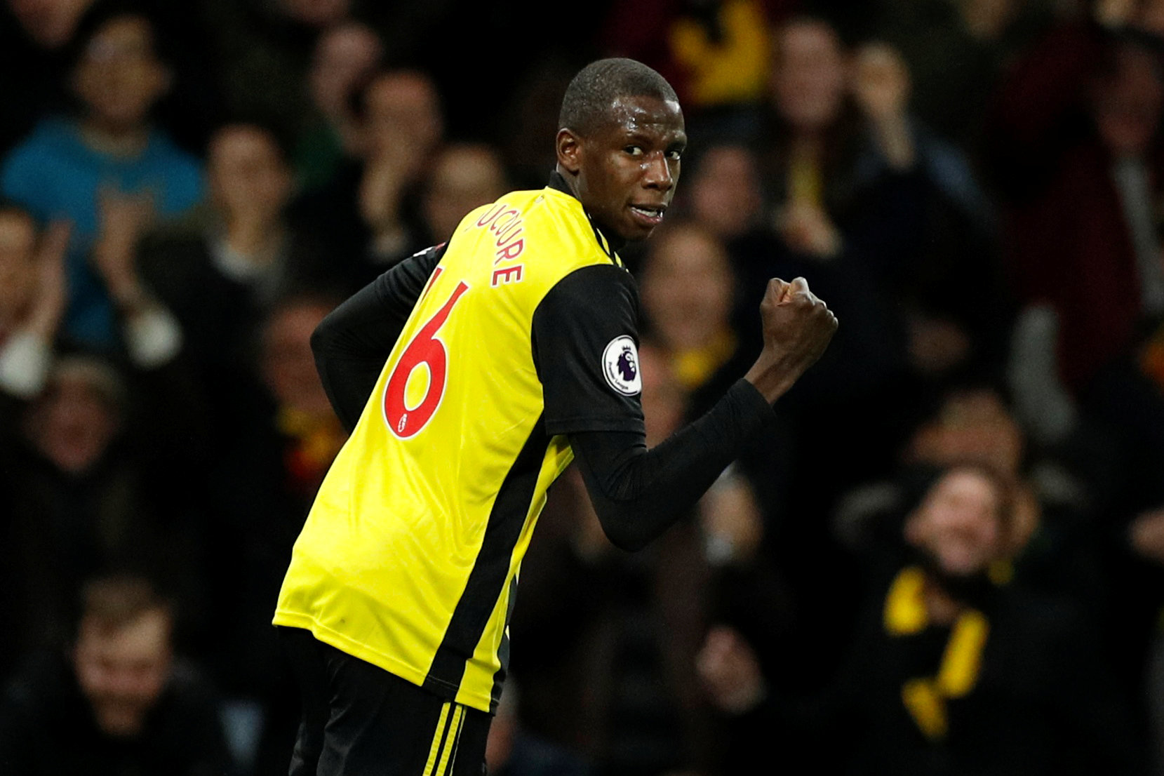 Abdoulaye Doucoure is planning for a future away from Watford. Picture: Action Images