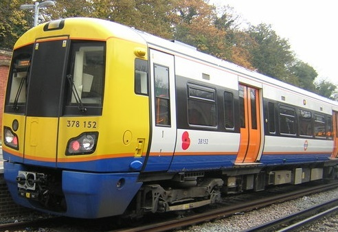 The incident happened on the Overground