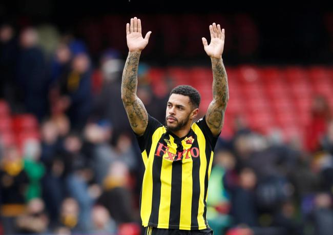 Andre Gray thinks Watford were 'battered' in the FA Cup final. Picture: Action Images