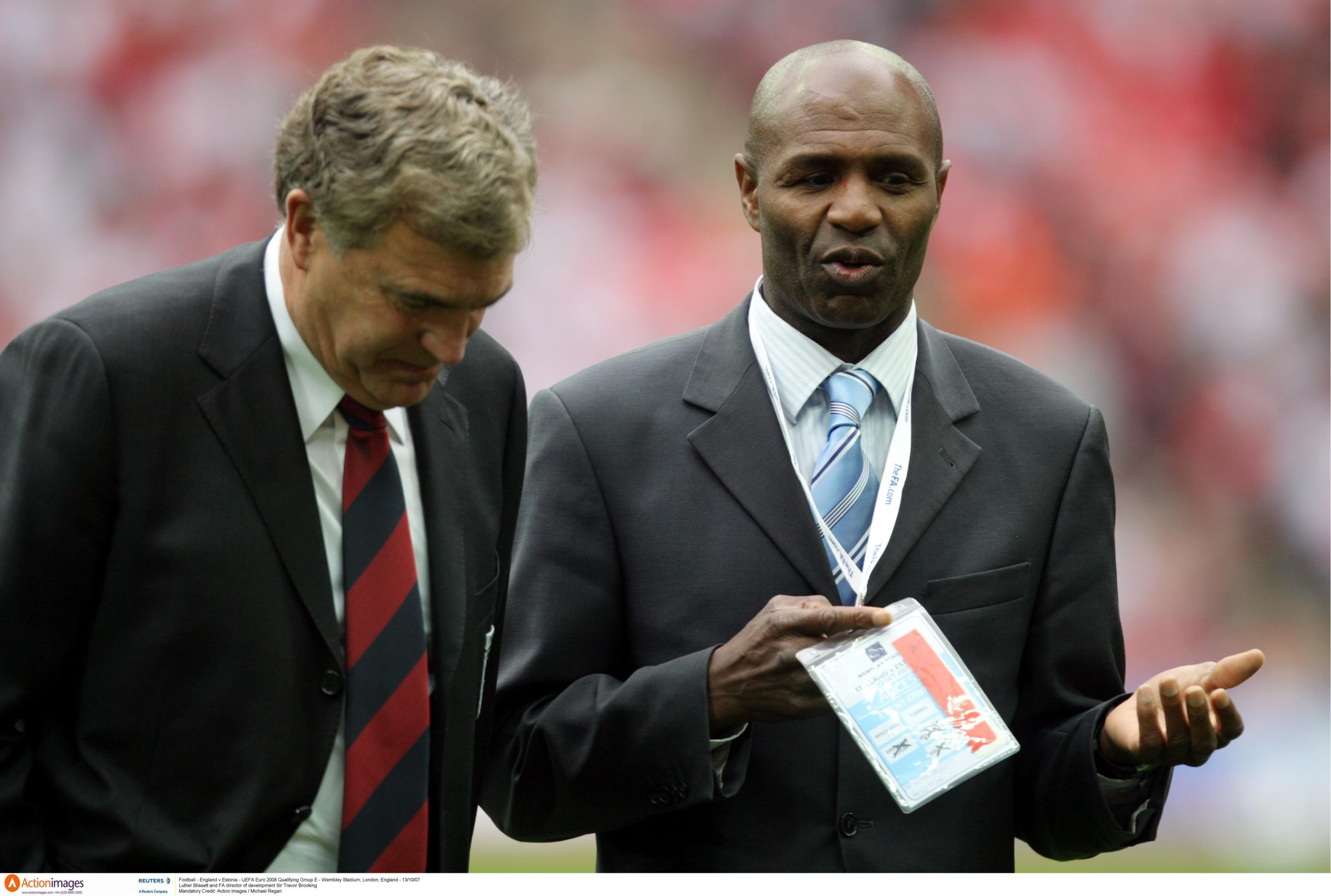 Luther Blissett said racism is a scourge on society. Picture: Action Images