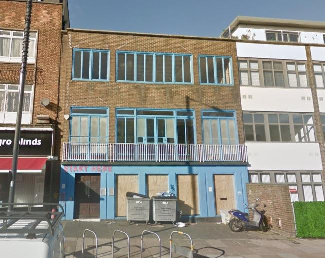 The former Rayners Lane Library (Image: Google Maps)