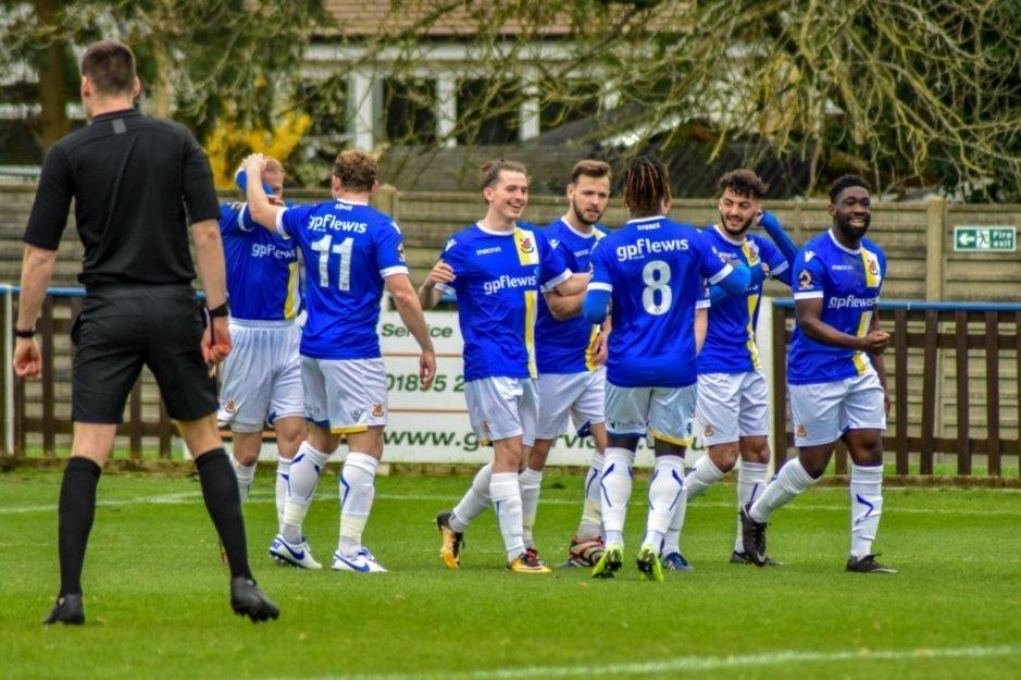 Wealdstone won one of their two games over Easter to close in on the National League South play-offs. Picture: Dan Finill - DFinill Photography