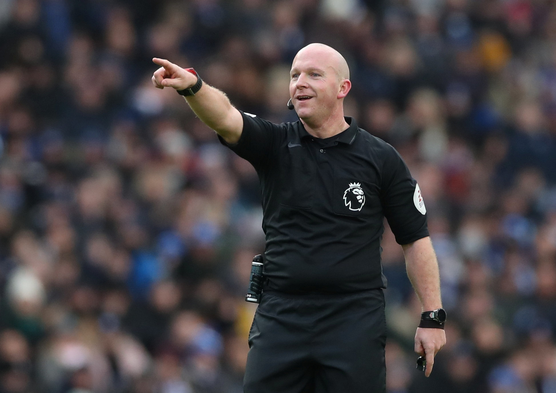 Simon Hooper will officiate Watford's game against Wolverhampton Wanderers this weekend. Picture: Action Images