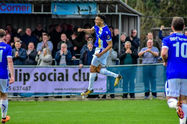 Wealdstone won their final match of pre-season 2-0 against Brentford B. Picture: Dan Finill - DFinill Photography