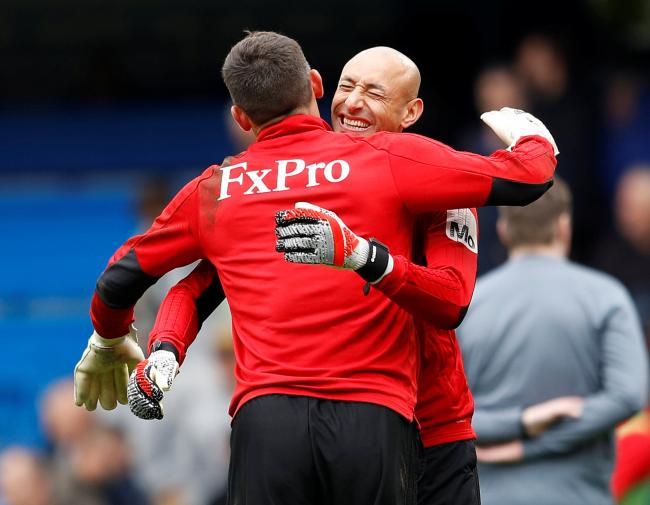 Ben Foster also wants to keep Heurelho Gomes at Watford. Picture: Action Images