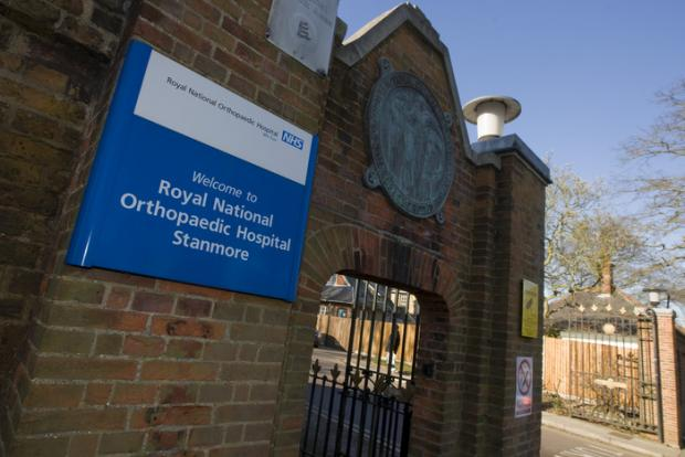 Bear Grylls support Royal National Orthopedic Hospital's redevelopment
