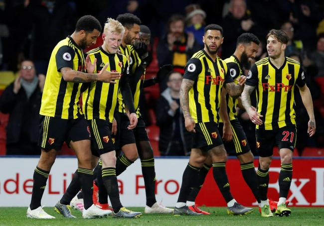 Watford play West Ham United on Sunday. Picture: Action Images