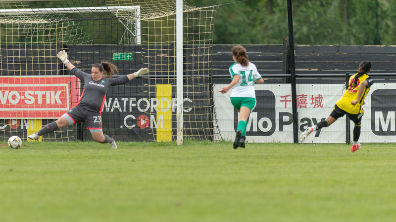 Adekite Fatuga-Dada during Watford Ladies' game against Plymouth. Picutre: AW Images