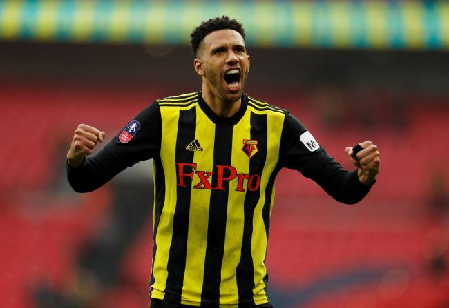 Etienne Capoue was named Watford's Player of the Season. Picture: Action Images