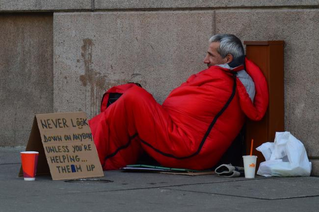There are still almost three times as many rough sleepers in London as in 2010.