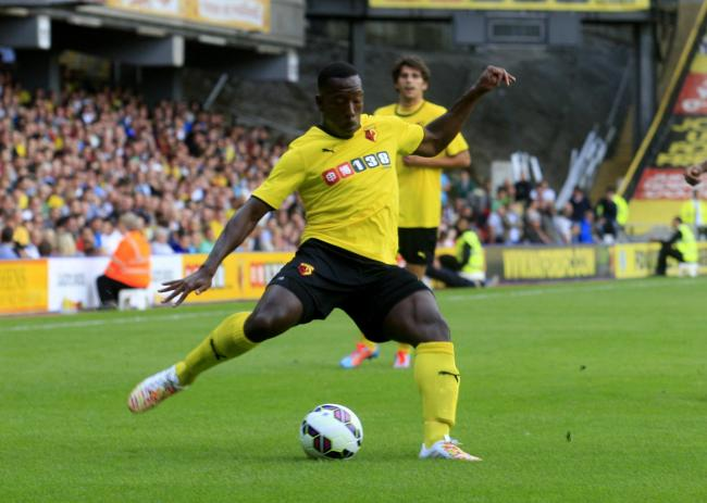 Lloyd Doyley will play at Vicarage Road on Tuesday evening.
