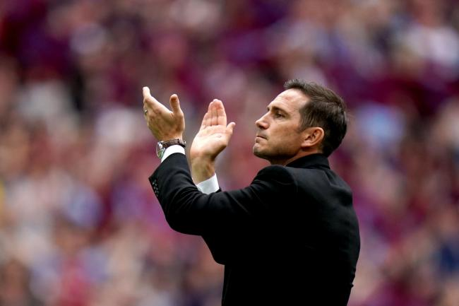 Derby manager Frank Lampard (PA)