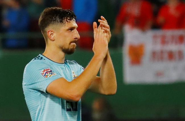 Craig Cathcart on international duty. Picture: Action Images